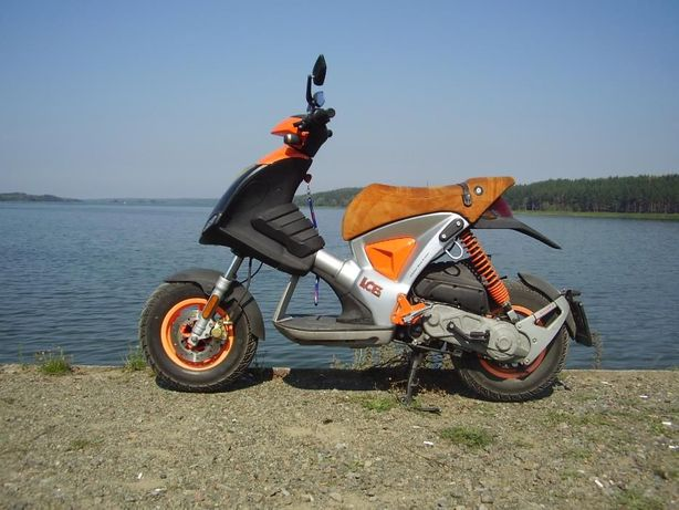 Эксклюзивный скутер GILERA ICE !