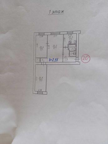 Продам 3-х комнатную квартиру на Нижней Крынке