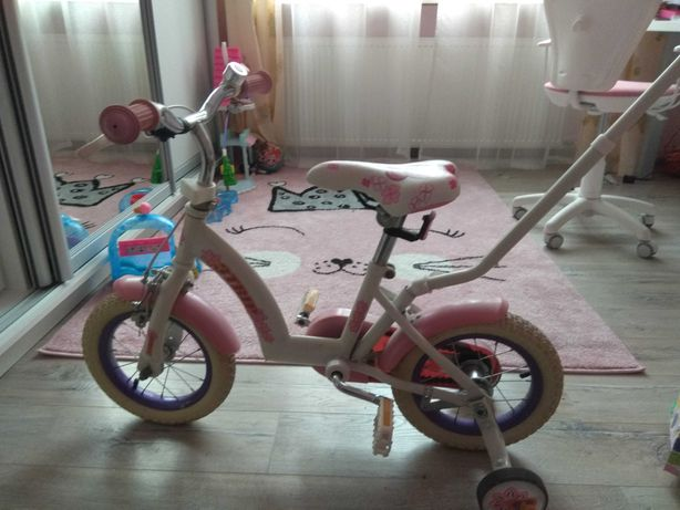 Rower dziecięcy dla dziewczynki