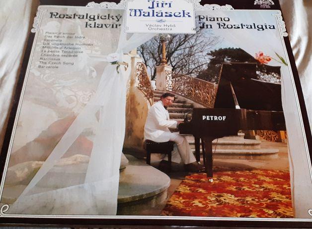 Пластинка Jiří Malásek,Václav Hybš Orchestra–Nostalgický Klavír.