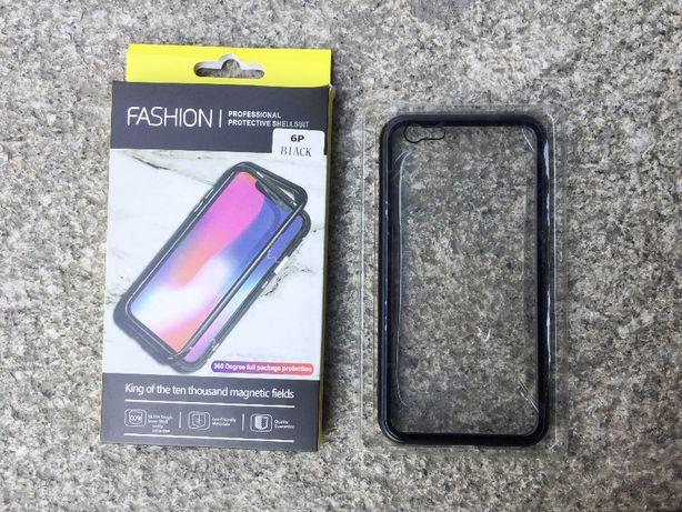 Capa magnética para iPhone 6/6s/6 Plus/7/8/7Plus/8Plus/X/XS/XR/XS Max
