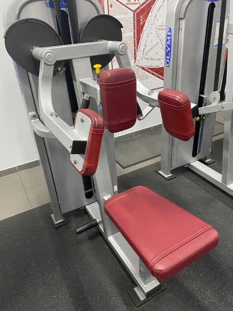 OLYMP G051 atlas - stos 80kg - do ćwiczenia mięśni naramiennych