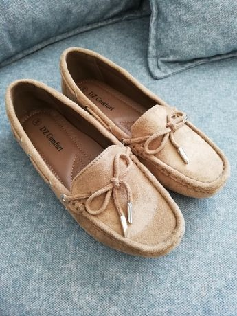 Nowe buty mokasyny 36