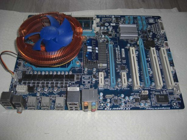 Phenom II x4 B60 плата AM3+ Gigabyte GA-870-UD3P