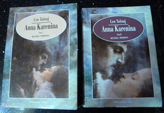 Anna Karenina Lew Tołstoj 2 tomy