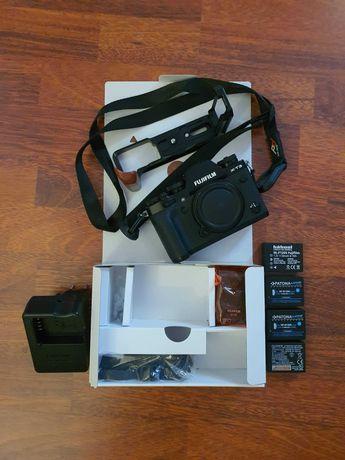 Fujifilm x-T3 Body+4 baterie+pasek Peak Design+L Bracket Small Rig