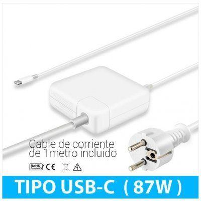 Carregador Apple USB-C 87W c/ cabo de corrente 1m