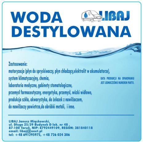 Woda demineralizowana/destylowana luz