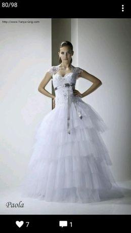 Свадебное платье Рaola от Тани Григ