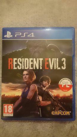 Resident evil 3 pl PS4