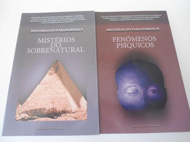 Histórias do Paranormal I-II da Editorial Presença (1998.1999)
