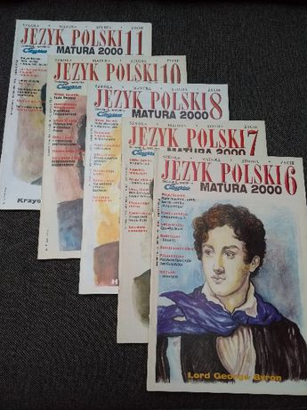 Repetytorium Język Polski matura liceum zestaw WYSYŁKA