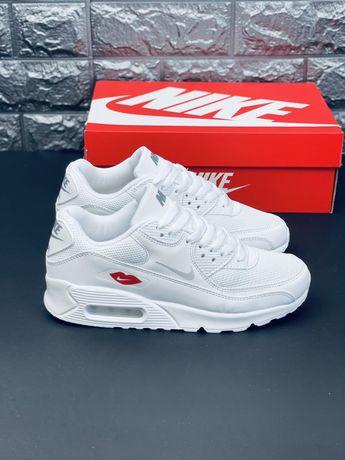 НОВИНКА 2021 Nike Air Max 90 Love is кожаные кроссовки Найк аир 90