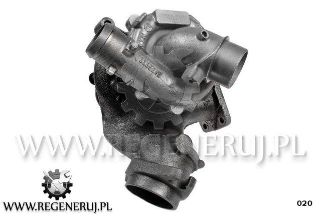 Turbosprężarka Garrett 707240 Citroen Fiat Ulysse C8 2.2 HDi 128KM