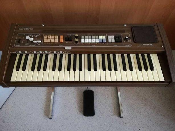 Stary keyboard Casio Casiotone 401