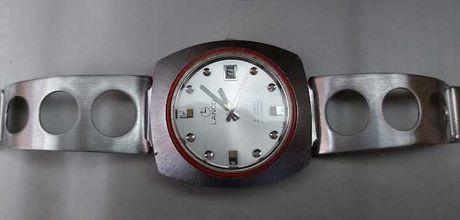 Relógio Lanco - Caixa em fibra de vidro anos 70