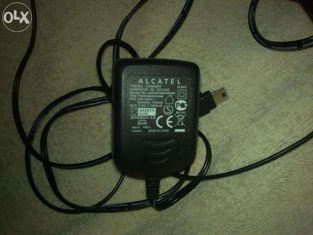 Carregador original ALCATEL, novo, com entrada USB...