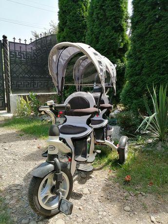дитячий двійний велосипед