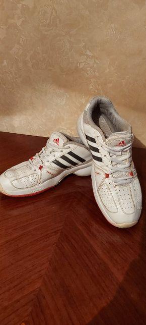Кроссовки Adidas Оригинал 24.5 25 Натуральная кожа