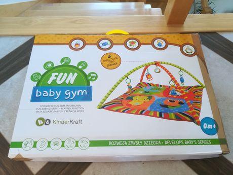 Mata edukacyjna dla noworodka pałąk zabawki gratis