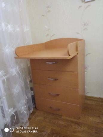 Новый  комод-стол для пеленания