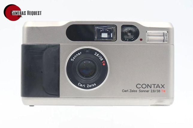 Contax T2 c/ caixa completa