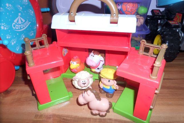 Domek FARM house + zwierzęta