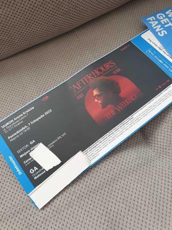 THE WEEKND After Hours Tour bilet na koncert 7.11.2022 na płytę