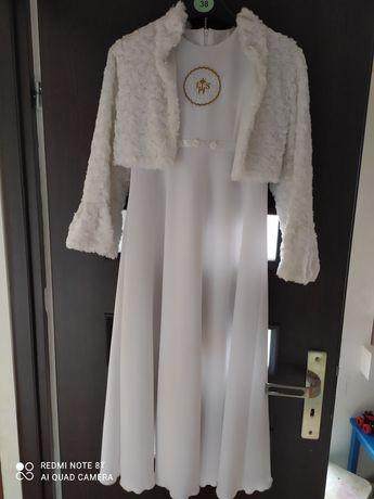 Sukienka komunijna 134 cm