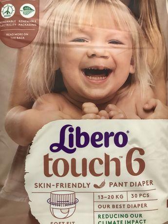 Подгузники и трусики Libero touch 6, 7 Либеро Тач pants