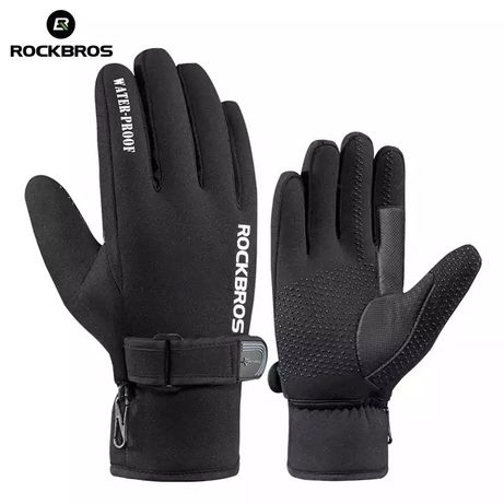 Спортивные зимние перчатки RockBros лыжные велосипедные вело мото