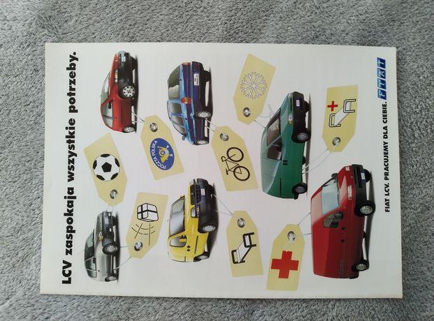 Prospekt Fiat Seicento Punto dostawcze