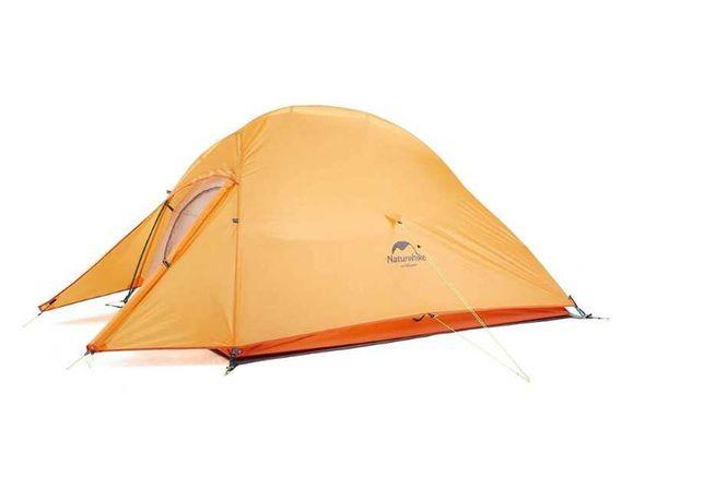 Новая двухместная палатка Naturehike Cloud Up 2 полиэстер 210T (оранж)