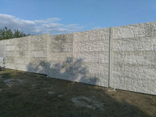 бетонный забор цена вінниця