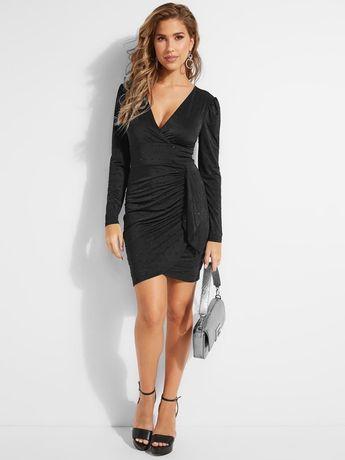 Vestido Guess preto justo