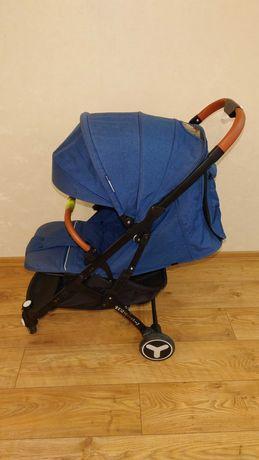 Детская прогулочная коляска YOYA PLUS Синий