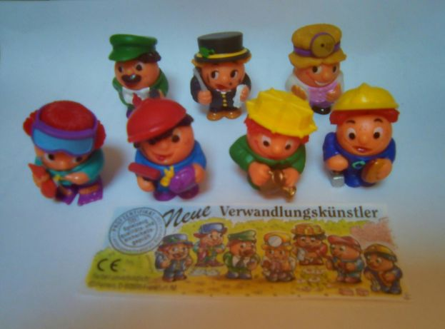 Para venda: Ref 00-Série Kinder competa + 6 BPZ (Nene Verwandlungskuns