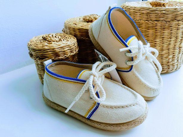 Мокасины лоферы Zara 22 р. туфли кроссовки
