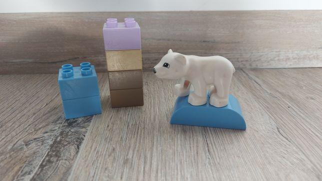 Lego Duplo niedźwiadek i skałki