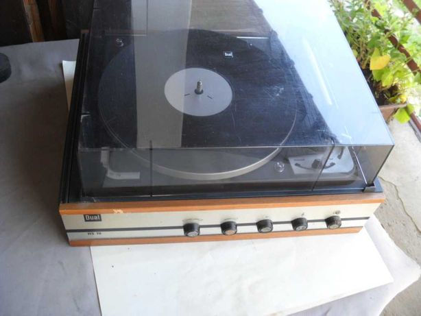 Stary gramofon Dual HS 10 sprawny