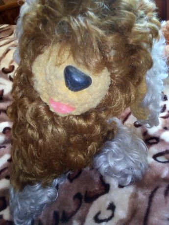 игрушки,Собачка, медведь времён СССР