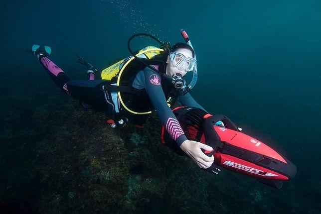 Подводный буксировщик Yamaha 350Li скутер для дайвинга акваскутер