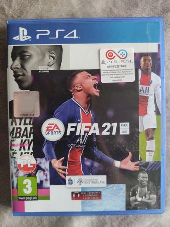 Gry PS4 FIFA 21, GTA 5, NFS