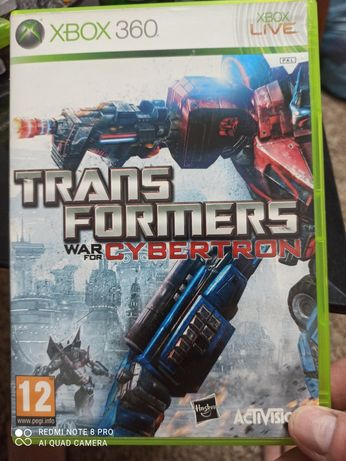 Gra xbox 360 TRANSFORMERS war for cybertron