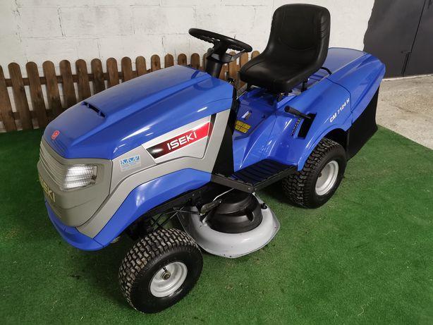 Traktorek kosiarka Iseki 16 km Honda dwa cylindry pompa śliczny