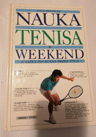 Paul Douglas książka poradnik Nauka tenisa w weekend