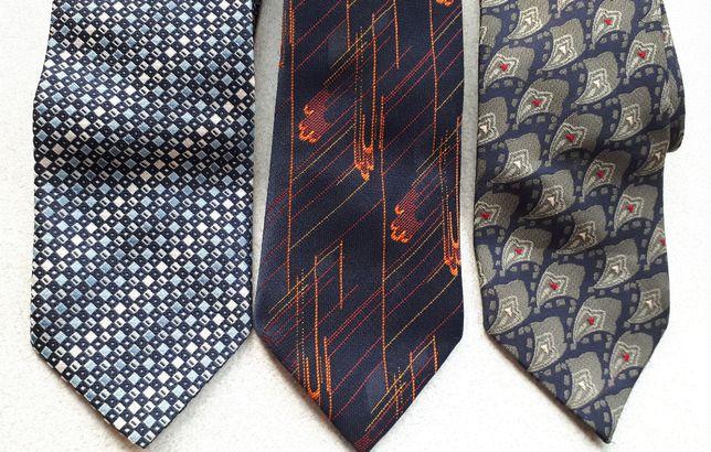 krawat różne wzory krawaty