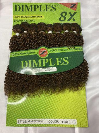 Cabelo organico Dimple 8pcs