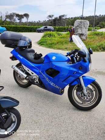 Moto suzuki gxf 750 cc