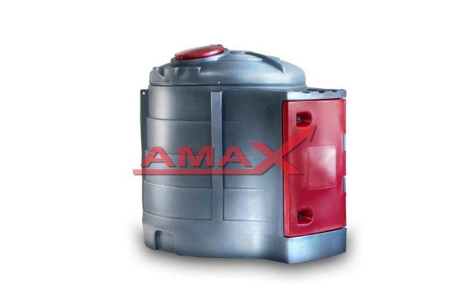 Dwupłaszczowy zbiornik na olej napędowy 2500l, diesel, ON, raty AMAX